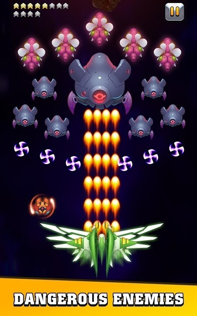 Galaxy Invader: Infinite Shooting 2020 Android Game Image 4