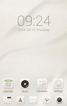 Soft Cream Go Launcher Android Theme Image 1
