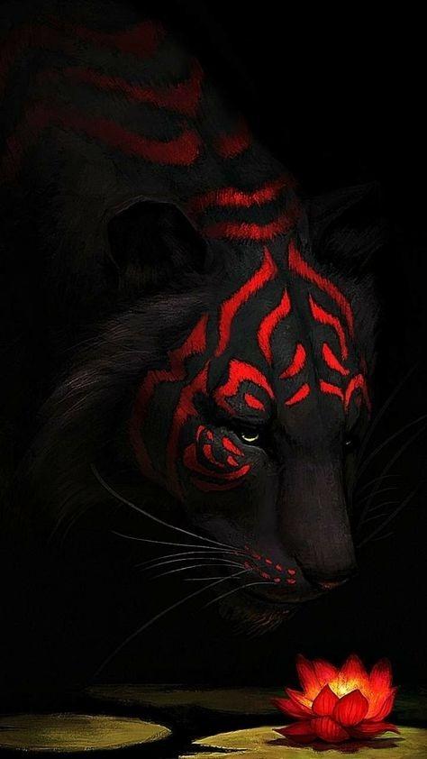 Tiger Mobile Phone Wallpaper Image 1
