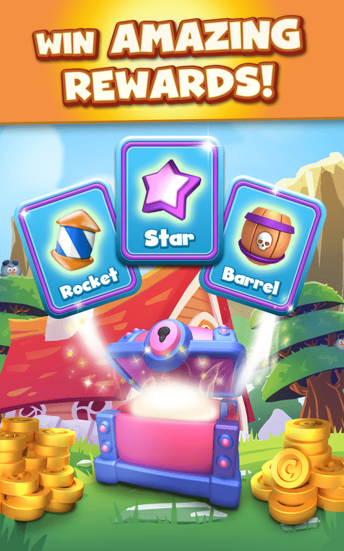 Cartoon Crush: Blast 3 Matching Games Toon Puzzle Android Game Image 2
