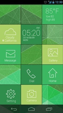 Cube Go Launcher Android Theme Image 2