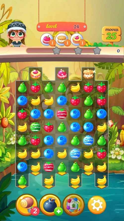 New Tasty Fruits Bomb: Puzzle World Android Game Image 3