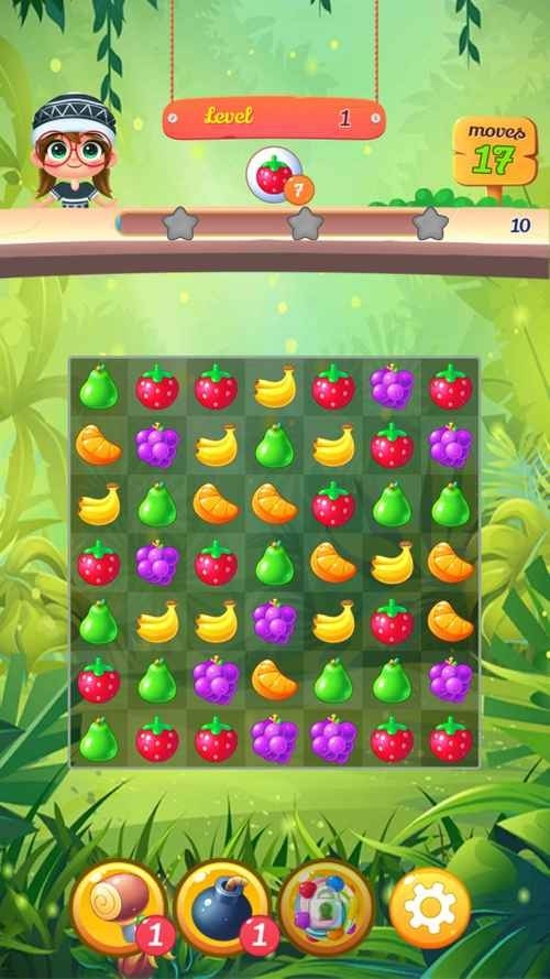 New Tasty Fruits Bomb: Puzzle World Android Game Image 4