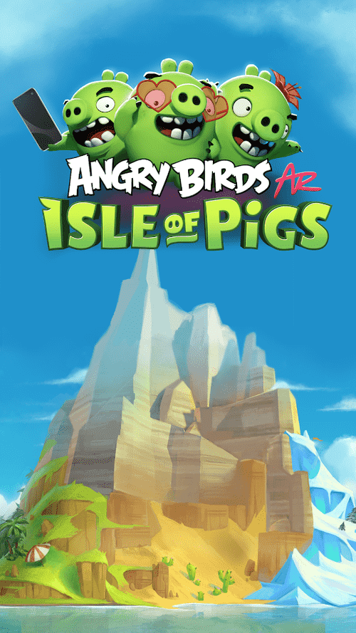 Angry Birds AR: Isle Of Pigs Android Game Image 1