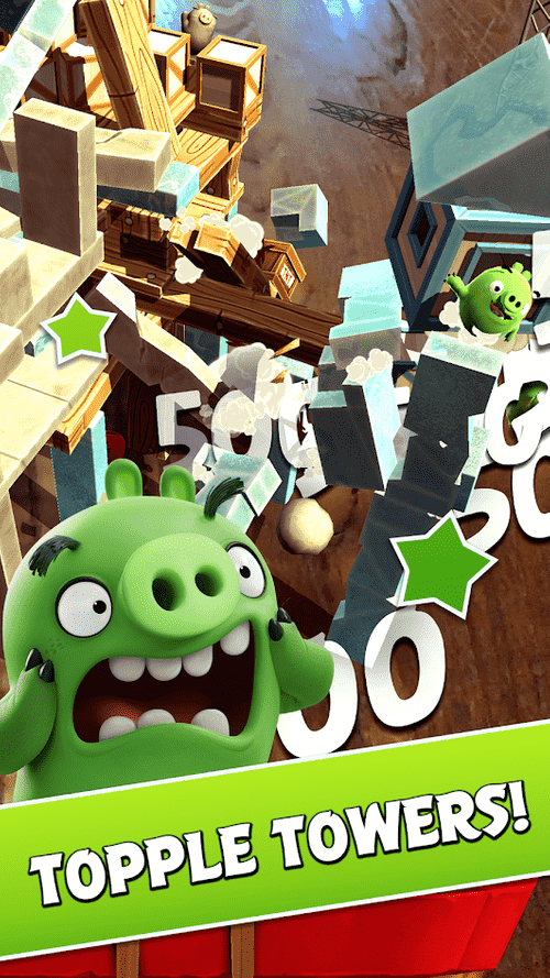Angry Birds AR: Isle Of Pigs Android Game Image 2