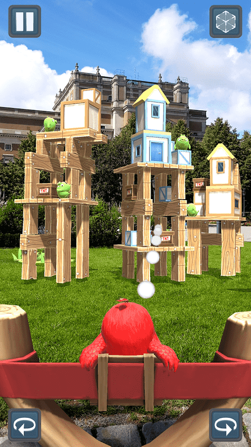 Angry Birds AR: Isle Of Pigs Android Game Image 3