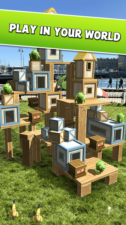 Angry Birds AR: Isle Of Pigs Android Game Image 4