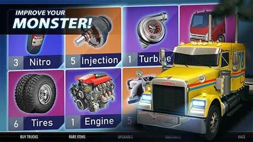 Big Truck Drag Racing Android Game Image 2