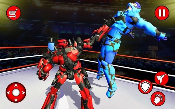 Grand Robot Ring Fighting 2019 Android Game Image 1