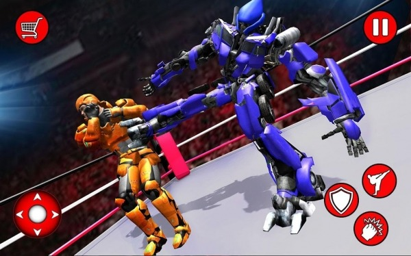 Grand Robot Ring Fighting 2019 Android Game Image 2