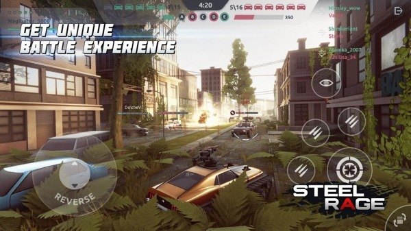 Steel Rage: Robot Cars PvP Shooter Warfare Android Game Image 3