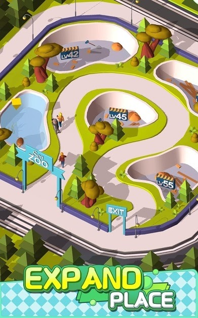 Idle Animals Kingdom - Wonder Zoo Tycoon Android Game Image 3