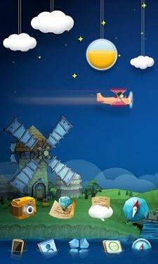 Gfarm Go Launcher Android Theme Image 1