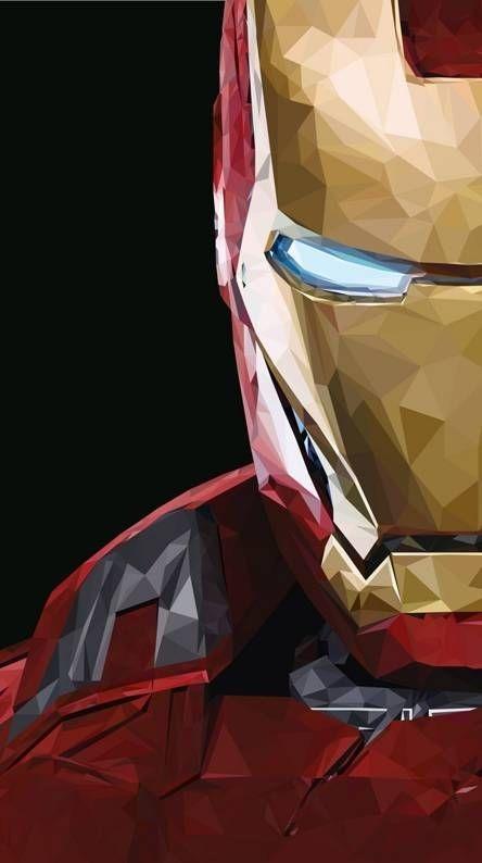 Iron Man Mobile Phone Wallpaper Image 1