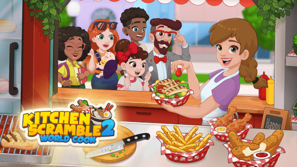 Kitchen Scramble 2: World Cook Android Game Image 1