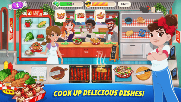 Kitchen Scramble 2: World Cook Android Game Image 2