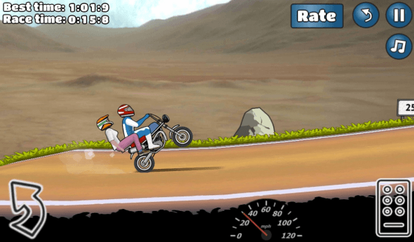 Wheelie Challenge Android Game Image 1