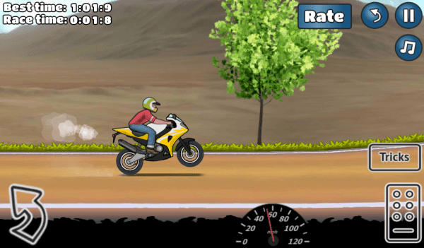 Wheelie Challenge Android Game Image 4