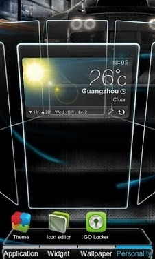 Next Go Launcher Android Theme Image 1