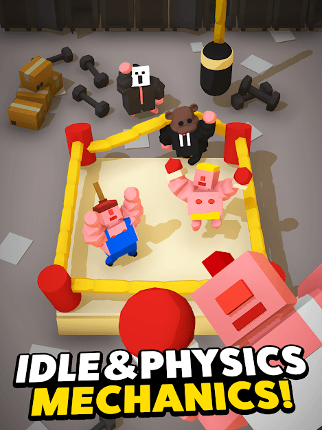 Idle Boxing - Idle Clicker Tycoon Game Android Game Image 1