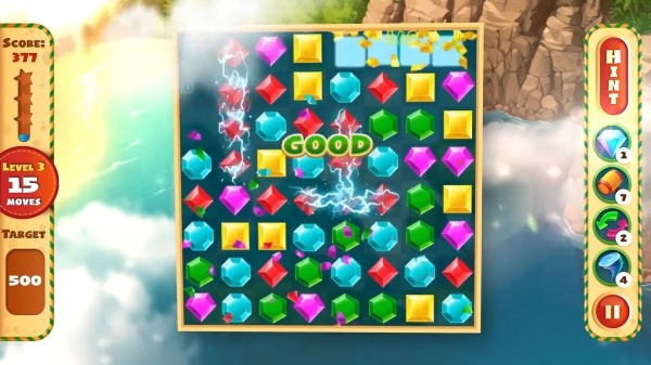 Jewel Empire : Quest & Match 3 Puzzle Android Game Image 2