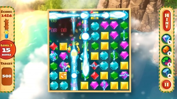 Jewel Empire : Quest & Match 3 Puzzle Android Game Image 3