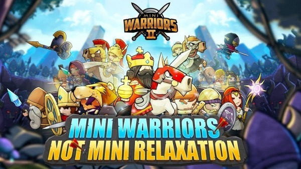 Mini Warriors 2 - Idle Arena Android Game Image 1