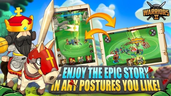 Mini Warriors 2 - Idle Arena Android Game Image 2