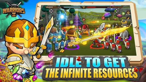 Mini Warriors 2 - Idle Arena Android Game Image 3