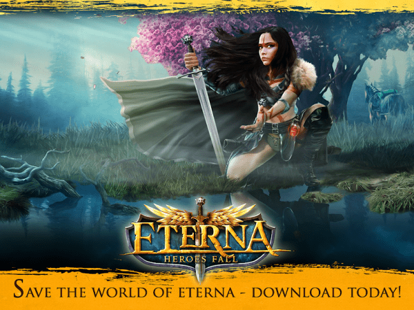 Eterna: Heroes Fall - Deep RPG Android Game Image 1