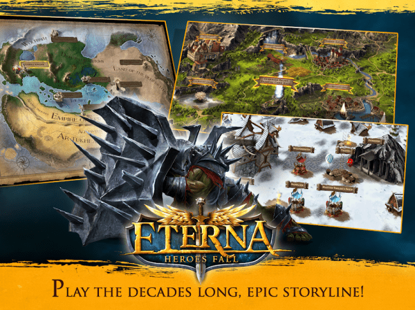 Eterna: Heroes Fall - Deep RPG Android Game Image 2
