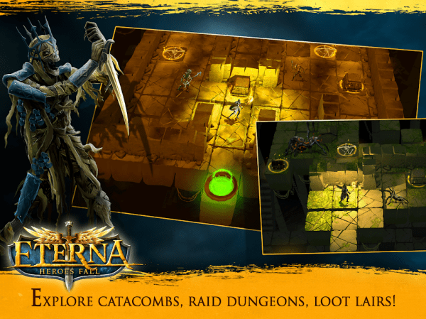 Eterna: Heroes Fall - Deep RPG Android Game Image 4
