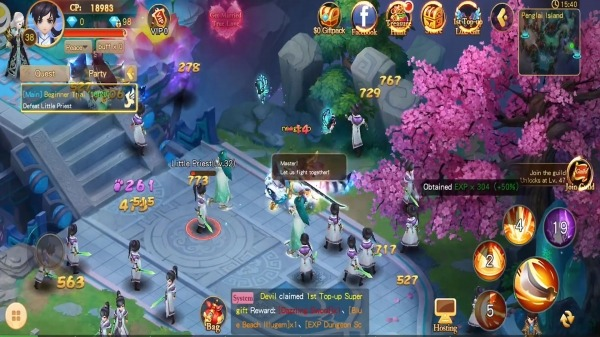 Fable Valley Android Game Image 2