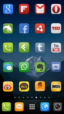 UI5.0 Go Launcher Android Theme Image 2