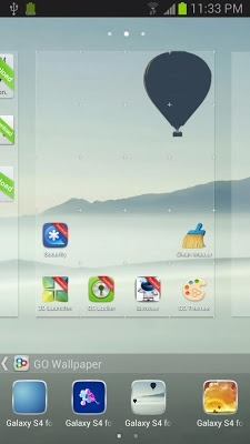 Galaxy S Go Launcher Android Theme Image 1