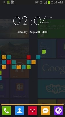 Windows Go Launcher Android Theme Image 1