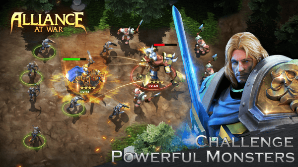 Alliance At War: Dragon Empire - Strategy MMO Android Game Image 1