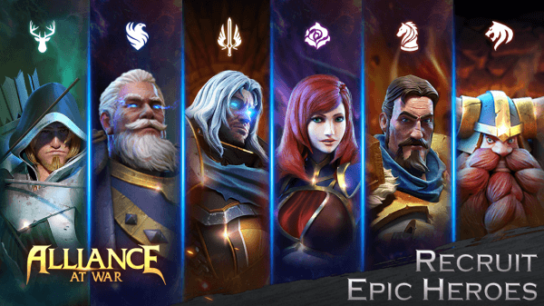 Alliance At War: Dragon Empire - Strategy MMO Android Game Image 2