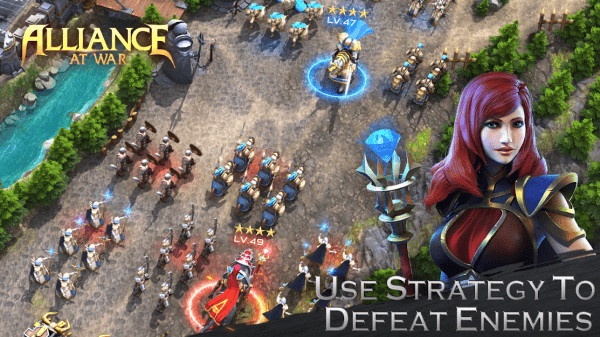 Alliance At War: Dragon Empire - Strategy MMO Android Game Image 3