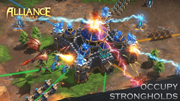 Alliance At War: Dragon Empire - Strategy MMO Android Game Image 4