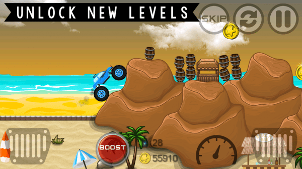 Monster Truck Hero Android Game Image 2