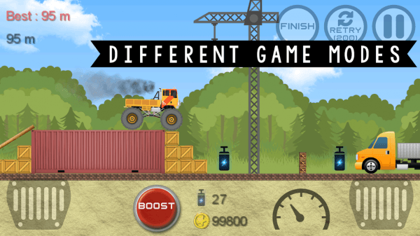Monster Truck Hero Android Game Image 5