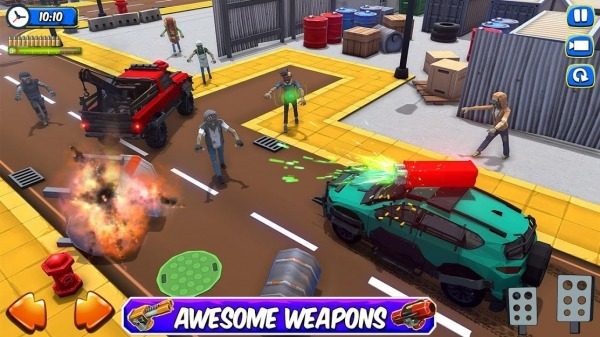 Zombie Squad: Crash Racing Pickup Android Game Image 1
