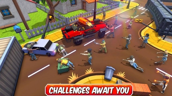 Zombie Squad: Crash Racing Pickup Android Game Image 3