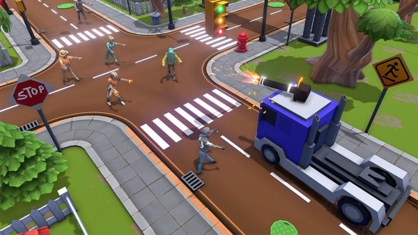 Zombie Squad: Crash Racing Pickup Android Game Image 5