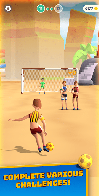 Flick Goal! Android Game Image 1