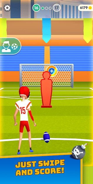 Flick Goal! Android Game Image 3