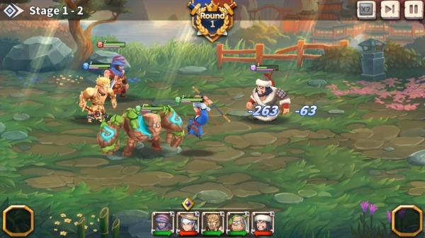 WITH HEROES - IDLE RPG Android Game Image 2