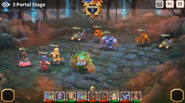 WITH HEROES - IDLE RPG Android Game Image 3