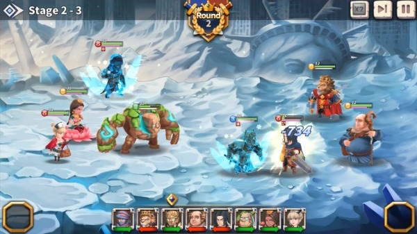 WITH HEROES - IDLE RPG Android Game Image 4